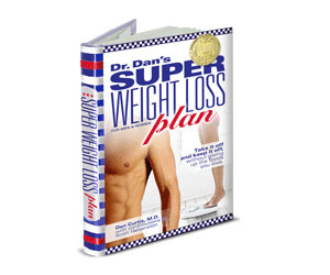 Book cover Dr. Dan's Super Weight Loss Plan hardcover