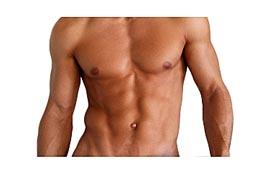 torso of very fit man