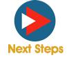 next steps icon