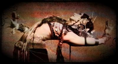 Rachel Brice dancing